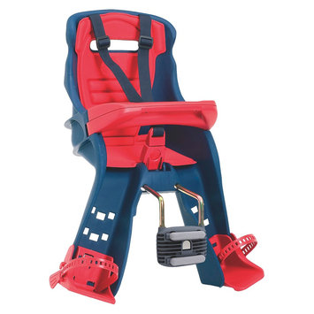 Peg-perego Peg Perego Orion Navy/Red-Front Mounted Bicycle Child Carrier