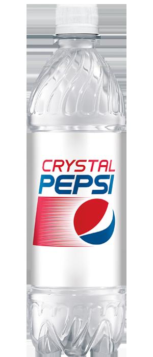 Crystal Pepsi®