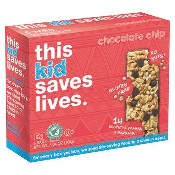 This Bar Saves Lives Chocolate Chip Granola Bars 5.63 oz
