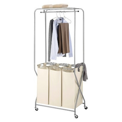 Threshold Laundry Station With Triple Sorter Bags