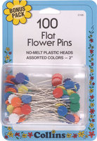 W H Collins Inc. Dritz Flowerpins Flat Flower Pins - W H COLLINS INC.
