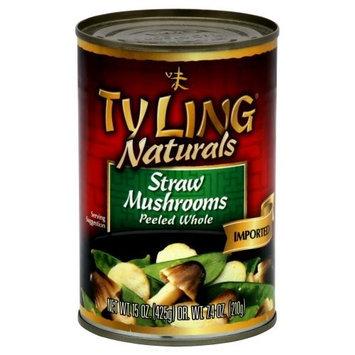 Ty Ling, Stir Fry Straw Mushrm, 15 OZ (Pack of 12)