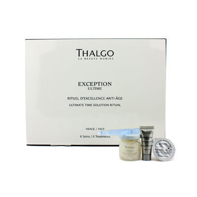 Thalgo - Exception Ultime Ultimate Time Solution Ritual - Anti Age Treatment Protocol 6 treatments