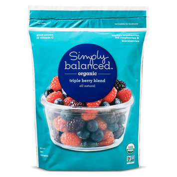 Simply Balanced Organic Triple Berry Blend 40OZ.