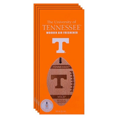 Ncaa Tennessee Volunteers 4pk Wooden Football Air Fresheners