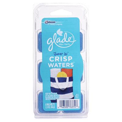S.c. Johnson Glade Wax Melts Jump In Crisp Waters 2.3OZ/6CT
