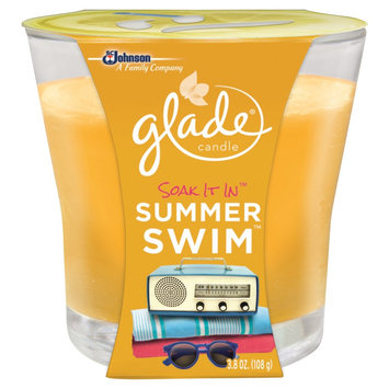 S.c. Johnson Glade Candle Soak It In Summer Swim 3.8OZ