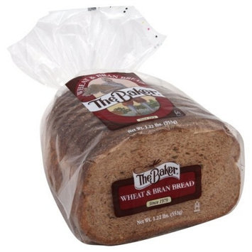 The Baker Wheat & Bran 20 Oz Bread 3 Packs