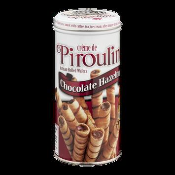 Creme De Pirouline Artisan Rolled Wafers Chocolate Hazelnut
