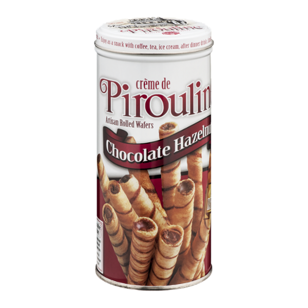 Creme De Pirouline Artisan Rolled Wafers Chocolate Hazelnut