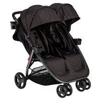 Combi International Combi Fold N Go Double Stroller - Black