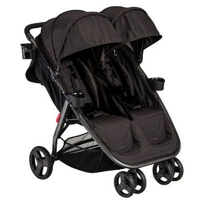 Combi International Combi Fold N Go Double Stroller - Black