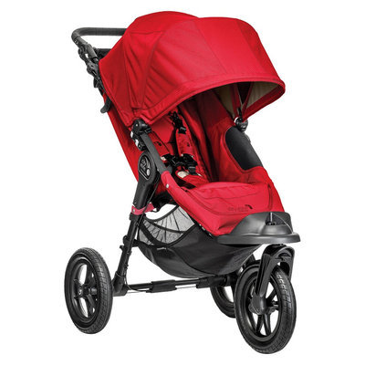 Baby Jogger Baby Stroller Jogger City Elite Single - Red