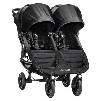 Baby Jogger Baby Stroller Jogger City Mini GT Double - Black/Black