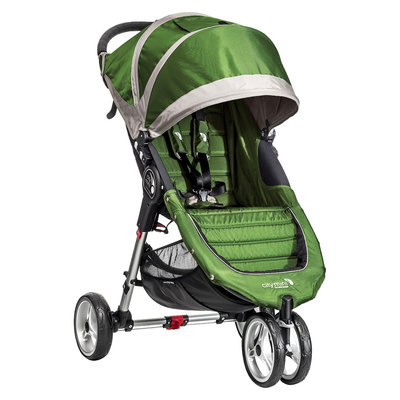 Baby Jogger Baby Stroller Jogger City Mini Single - Lime/Gray