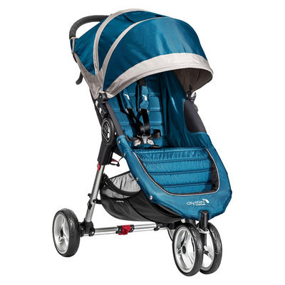 Baby Jogger Baby Stroller Jogger City Mini Single - Teal/Gray