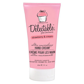 Be Delectable From Cake Beauty Be Delectable by Cake Beauty Strawberry & Cream Mini Hand Cream