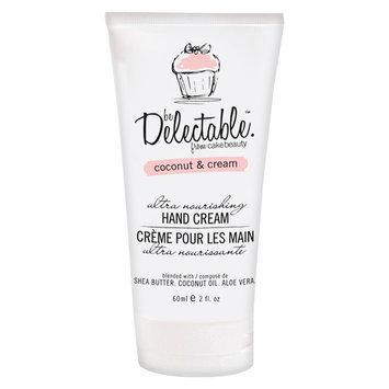 Be Delectable Coconut & Cream Ultra Nourishing Hand Cream - 2 oz