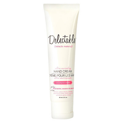 Cake Beauty Inc Delectable by Cake Beauty Ultra Nourishing Hand Cream to Go Travel Size Coconut & Cream - 2 oz