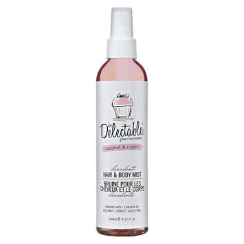 be Delectable from Cake Beauty Coconut & Cream Hair and Body Mist