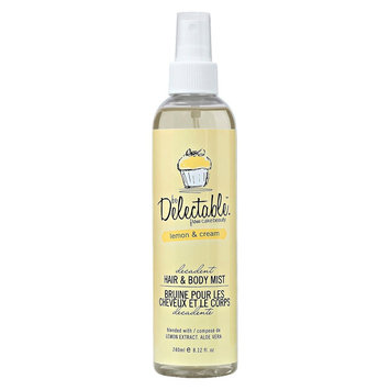 be Delectable from Cake Beauty Lemon & Cream Hair and Body Mist