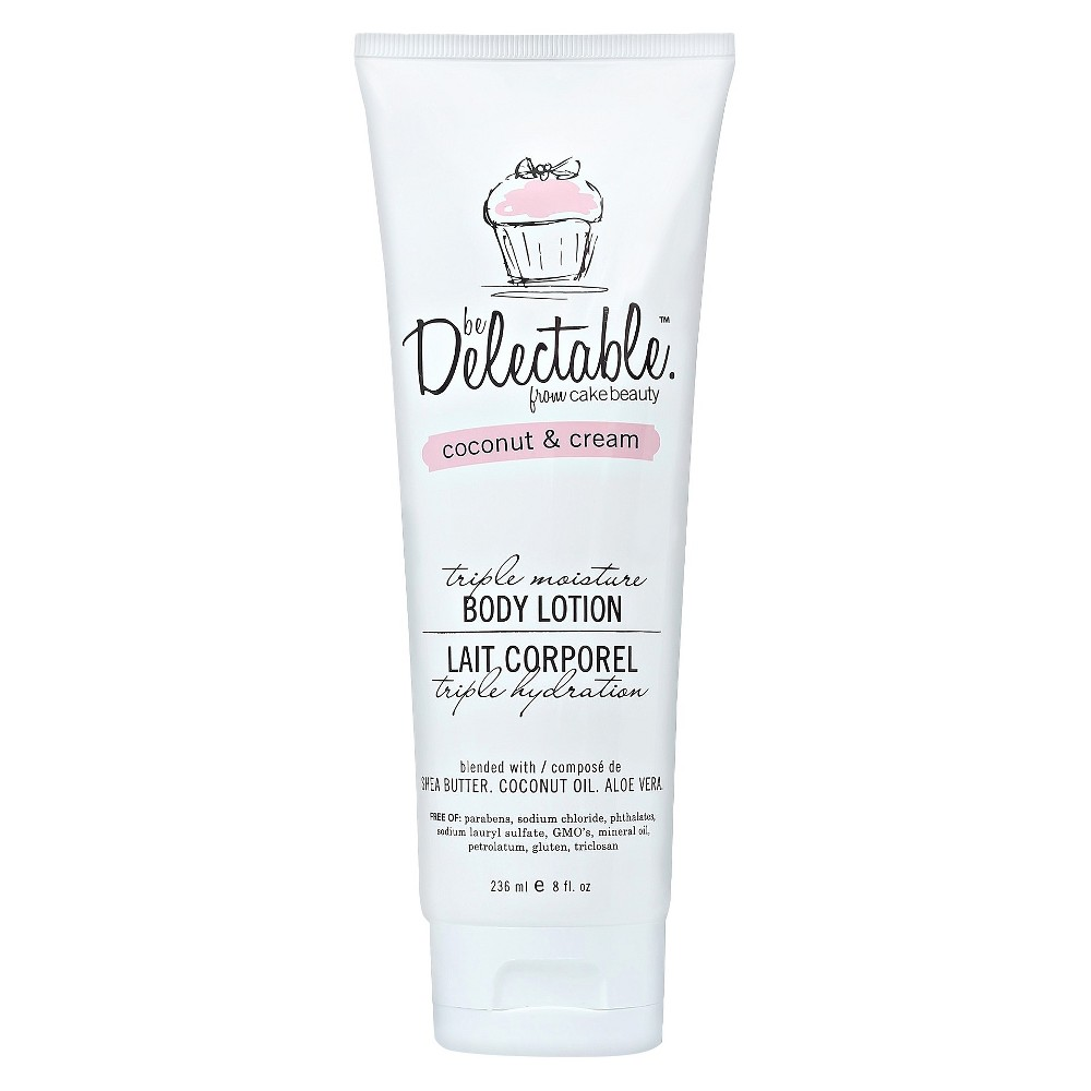 Be Delectable by Cake Beauty Coconut & Cream Body Lotion