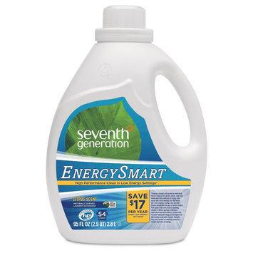 Seventh Generation Energy Smart Liquid Laundry Detergent Unscented 95oz