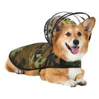 Push Pushi Dog Raincoat - Woodland Camo (XXL)