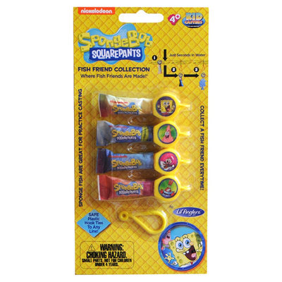 Lil Anglers Nickelodeon Training Bait Pack - Spongebob Squarepants
