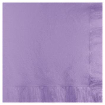 Creative Converting Paper Beverage Napkins - Luscious Lavender (50 count)