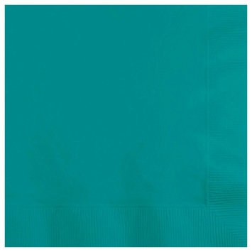 Creative Converting Paper Beverage Napkins - Tropical Teal (50 count)