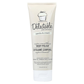 Be Delectable Vanilla & Cream Super Smoothing Body Polish - 8 oz