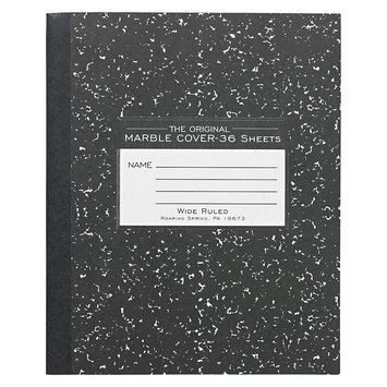 Roaring Spring Paper Products Roaring Spring Marble Cover Composition Book, Legal Rule, 8-1/2 x 7, 36 Pages