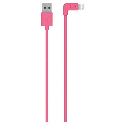 Belkin 90 degree Lightning Cable - Pink F8J147bt04-PNK