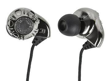 Monoprice 108320 Enhanced Bass Hi Fi Noise Isolating Earphones Silver H3C0CVSYS-1612