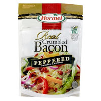 Hormel Real Crumbled Peppered Bacon 3 oz