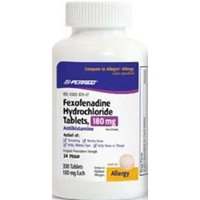 Perrigo Fexofenadine HCl 180mg 100ct. *Compare to Allegra*