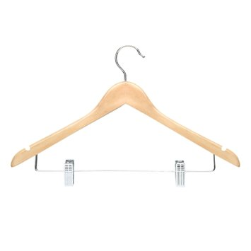 Honey Can Do Hanger with Clips