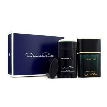 Oscar De La Renta 17206140714 Pour Lui Coffret Eau De Toilette Spray - 90 ml.
