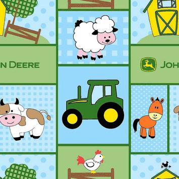 John Deere Baby Barn Yard Patch Fabric