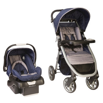 Eddie Bauer Alpine 4 Travel System - Twilight Blue