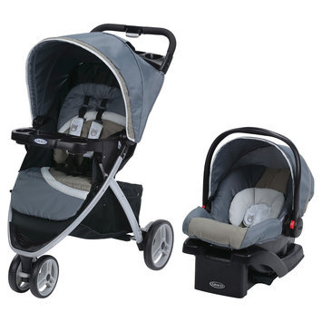 Graco Pace Click Connect Travel System - Kodiak