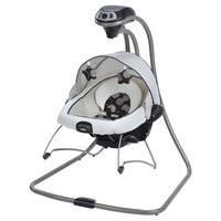 Graco DuetConnect DLX Swing and Bouncer - Milan