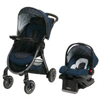 Graco FastAction Fold 2.0 Travel System - Gilt