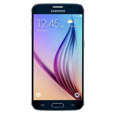Samsung - Galaxy S6 4g With 64GB Memory Cell Phone - Black Sapphire (at & t)