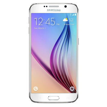 Samsung - Galaxy S6 4g With 64GB Memory Cell Phone - White Pearl (at & t)