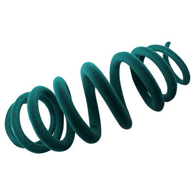 Boots & Barkley Cat Toy-Catty Coil Turquoise