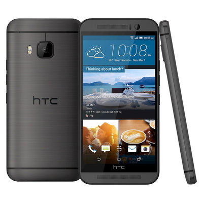 Htc - One (m9) 4g With 32GB Memory Cell Phone - Gunmetal Gray (at & t)