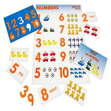 Teach My Toddler Numbers to 10 - English Edition