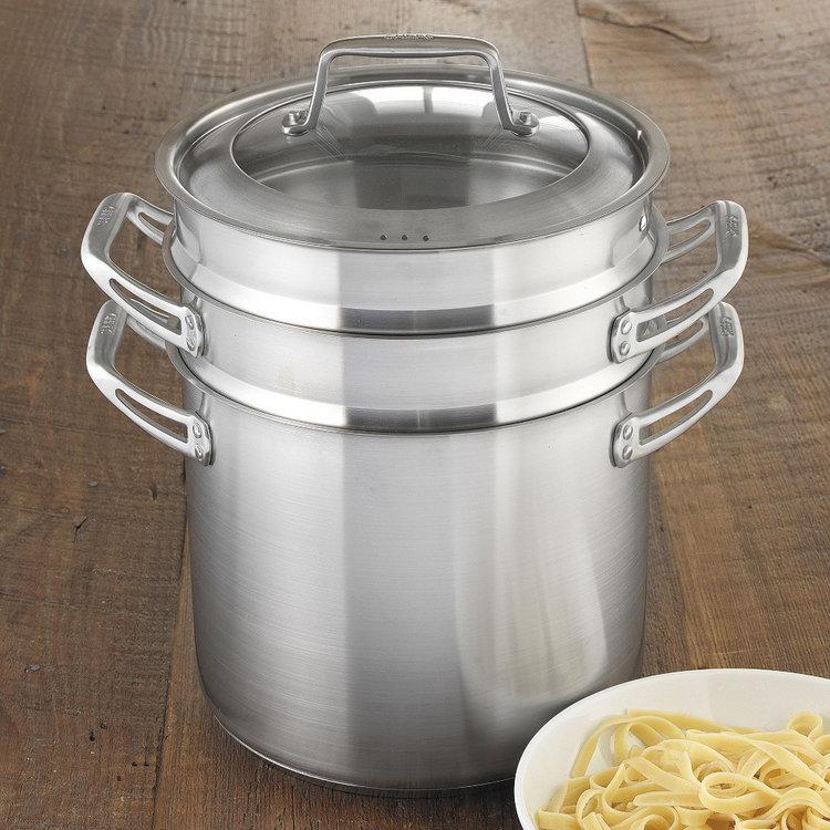 Chefs 4 Piece Stainless Steel Multi-Pot (10 quart)